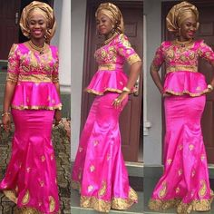 Shake the Fashion Table With These Beautiful Kente Styles - Sisi Couture African Lace Dresses, African Wedding Dress, African Dresses For Women, African Attire, African Wear, African Fashion Dresses, African Women, African Style, African Print Fashion