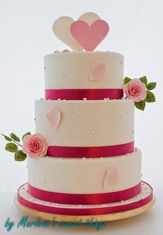 Wedding cake - Hochzeitstorte