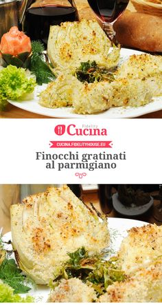 Finocchi gratinati al parmigiano No Salt Recipes, Best Food Ever, Antipasto, Finger Foods, Cooker, Side Dishes, Good Food, Food And Drink, Healthy Recipes