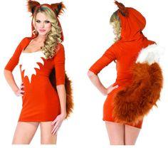 LEG AVENUE Foxy Roxy Costume 83879 (sonic cartoon)