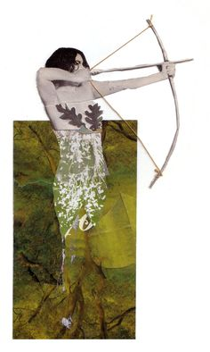 Lillianna Pereira - Fractured Tales, collage