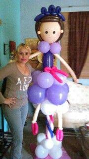 Bailar en globo