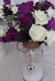 package includes 8 table centre pieces & matching cake topper