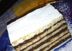 Hungarian Recipes, Hungarian Food, Tiramisu, Pie, Cooking, Ethnic Recipes, Cupcake, Cookies, Food Cakes