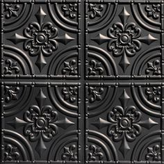 From Plain To Beautiful In Hours Wrought Iron 2 ft. x 2 ft. Glue Up PVC Ceiling Tile in Antique - The Home Depot Faux Tin Ceiling Tiles, Copper Ceiling, Wall Tiles, Covering Popcorn Ceiling, Tile Covers, Copper Kitchen, Kitchen Faucets, Color Tile, Wrought Iron