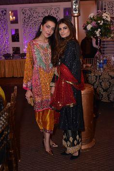 Maliha Aziz and Sada Parekh