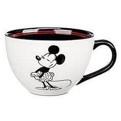 Disney Minnie Mouse 1928 Cappucino Cup | Disney StoreMinnie Mouse 1928 Cappucino Cup - Animate your morning with Minnie's generously sized cappucino cup featuring charming period art from the roaring 20's, part of her 85th Anniversary celebration.