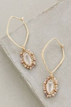 Antiqued Mirror Drops - anthropologie.com #anthroregistry