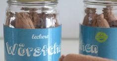 Klitzekleinchen: Würstchen im Glas für den Kaufladen