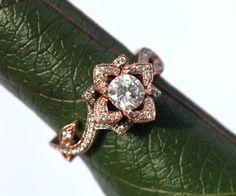 BLOOMING Work Of Art Flower Rose Lotus Diamond by BeautifulPetra - it comes in rose gold too! Wow!