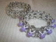 Pop top bracelet with beads