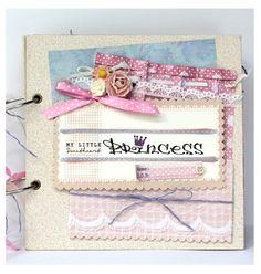For baby girl  * Scrapbook - Princess * Design by Fairy Corner - Fairycorner.vn