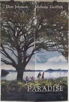 PARADISE - MELANIE GRIFFITH / DON JOHNSON - ORIGINAL AMERICAN 1SHT MOVIE POSTER