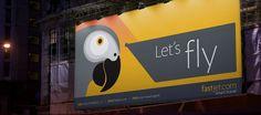 Fast Jet Branding (Billboard)