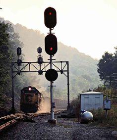 Chesapeake and Ohio Railway by John F. Bjorklund – Center for Railroad Photography & Art Railroad Photography, Art Photography, Railroad Pictures, Model Trains, Omega, Ohio, Trains, Fine Art Photography, Columbus Ohio