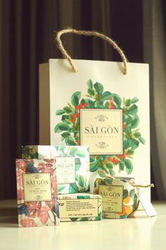 Packaging Design Projects for SaiGon Cosmétique by Huy Tran, via Behance