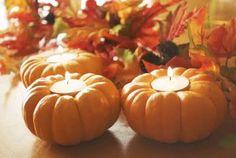 Halloween/ Fall ideas: play dough, chapstick, pumpkin gourd candle holders etc