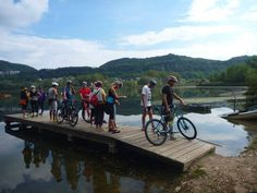 #Riding around the lake! #bike #tours #revinelago #treviso #veneto #italy http://www.cadelach.it/en/activity-holiday.php