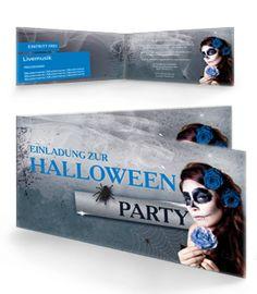 Einladungskarten jetzt günstig online kaufen. #halloweeneinladungskarte #halloween #partyeinladung