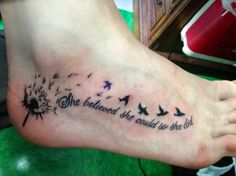 Feather With Birds With Quote images