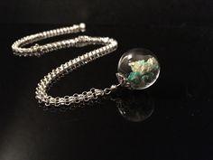 """Glasketten - Kette  """"Traum in Mint"""" - ein Designerstück von Simsalabim-SabrinaW bei DaWanda"""
