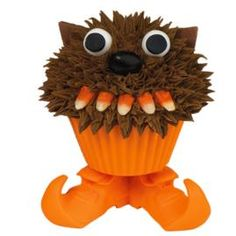 monster cupcake. level somewhat easy. with instructions