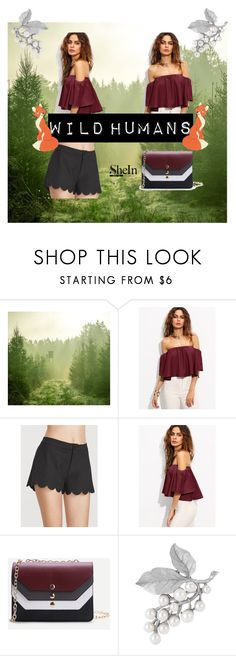 """""""Shein 2"""" by zina1002 ❤ liked on Polyvore featuring WithChic, Disney and Susan Caplan Vintage"""