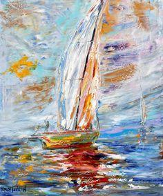 Hoi! Ik heb een geweldige listing op Etsy gevonden: https://www.etsy.com/nl/listing/238532458/original-oil-painting-sail-away-with-me