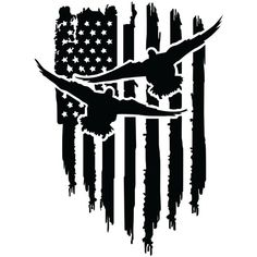 Duck Hanging Distressed American Flag Vinyl Decal Mallard Teal Hunter Hunting Car Window Sticker Pick Size and Color Car Window Stickers, Car Stickers, Duck Hunting Tattoos, Duck Tattoos, Hunting Decal, Hunting Dogs, Decals For Yeti Cups, American Flag Decal, American Symbols