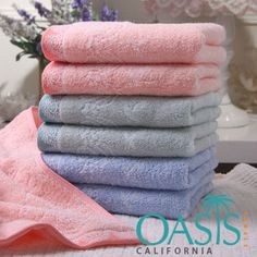 Are you in search of wholesale Peppermint self designed towels towels? Pick in bulk from the USA and UK manufacturer and supplier, Oasis Towels. We Ship Worldwide.