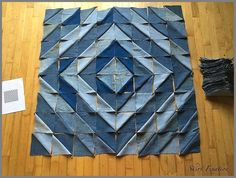 Denim Quilts, Denim Quilt Patterns, Blue Jean Quilts, Denim Patchwork, Bag Patterns, Quilting Patterns, Denim Fabric, Patchwork Quilting, Rag Quilt
