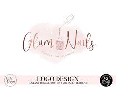 Tableau Logo, Nail Salon Names, Logo Spa, Nail Salon Design, Nail Logo, Eyelash Logo, Glamour Nails, Lashes Logo, Nail Designer