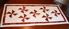 Table Runner - Spinning Stars £25.00