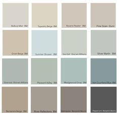 The New Neutrals (Benjamin Moore) ! Tips Ideas on the new neutral decorating colors for today!: