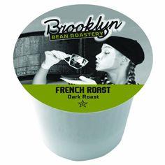 Brooklyn Beans French Roast Coffee Single-cup coffee for Keurig K-Cup Brewers for Keurig Brewers #BBRHB #Coffee #KCup #BBR