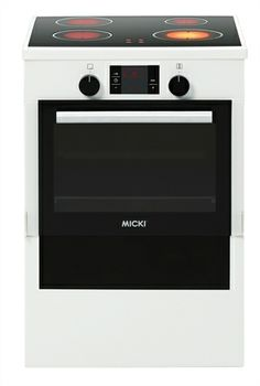 Micki, Gourmet, Spis med el, Vit / Toy oven/cooker/stove with electricity