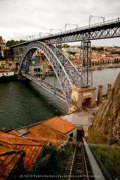 Ponte D. Luis / Puente D. Luis / D. Luis Bridge [2014 - Gaia / Porto / Oporto - Portugal] #fotografia #fotografias #photography #foto #fotos #photo #photos #local #locais #locals #cidade #cidades #ciudad #ciudades #city #cities #europa #europe #turismo #tourism #rio #river #douro #duero @Visit Portugal @ePortugal @WeBook Porto @OPORTO COOL @Oporto Lobers