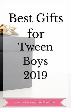 Get help finding awesome gifts for tween boys. 7 cool ideas that offer a lifetime of use all in multiple price points for maximum enjoyment Cool and trendy presents for the tween boy on your gift giving list for Tween Boy Gifts, Gifts For Teen Boys, Presents For Boys, Gifts For Coworkers, Gifts For Teens, Unique Gifts For Boys, Gifts For Family, Cool Gifts, Awesome Gifts