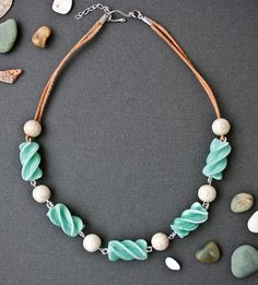 spiral beads tutorial