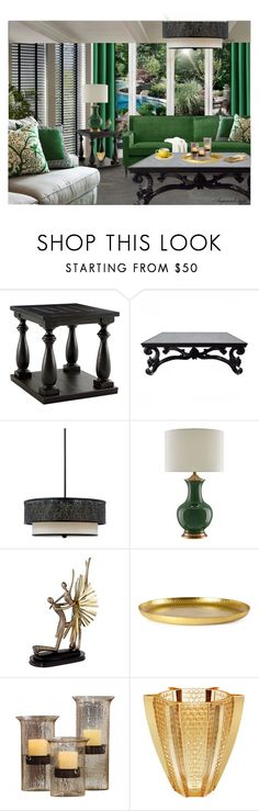 """""""FEELS LIKE SUNDAY MORNING"""" by arjanadesign ❤ liked on Polyvore featuring interior, interiors, interior design, home, home decor, interior decorating, Signature Design by Ashley, Quoizel, Currey & Company and Zara Home"""
