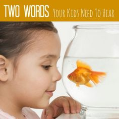 Your kids need to hear these two important words! Say them now to prevent hurt and bitterness later. Find more parenting tips at www.pintsizedtreasures.com