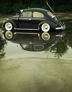 i have to say i would not mind having an old vw bug. Instead I have bought the new version very cool