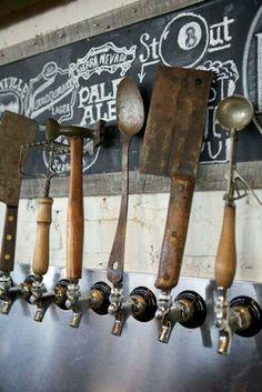 "Awesome tap handles via @gmsunrivers www.LiquorList.com  ""The Marketplace for Adults with Taste!""  @LiquorListcom  #liquorlist"