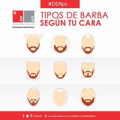 #DSTip ¿Eres fan de las #barbas? Conoce cuál es el estilo que más te favorece según tu tipo de cara. Tips, Male Style, Beard Types, Beards, Men, Beauty, Health, Counseling