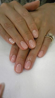 Im pretty much obsessed with nude nail polish. Its pretty, goes with everything, and is totally classic.