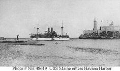 Spanish-American War - USS Maine, Havana Harbor