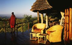 Award-winning Campi ya Kanzi is a luxury ecotourism lodge in the beautiful Chyulu Hills of Kenya. Experience our classic safari in a unique and private wilderness setting. Luxury Tents, Luxury Camping, Weird And Wonderful, Wonderful Places, Mount Kilimanjaro, Relaxing Holidays, Out Of Africa, Game Reserve, Going On Holiday