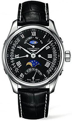 Shoppen Sie Longines The Master Collection Retrograde Moon Phases L2.739.4.51.7 auf Amazon.de:Uhren