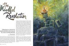The Mindful Revolution by Alex Kinal Wagner, via Behance