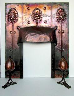 Copper fire insert